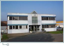1990, inauguration de l'usine de Courrendlin